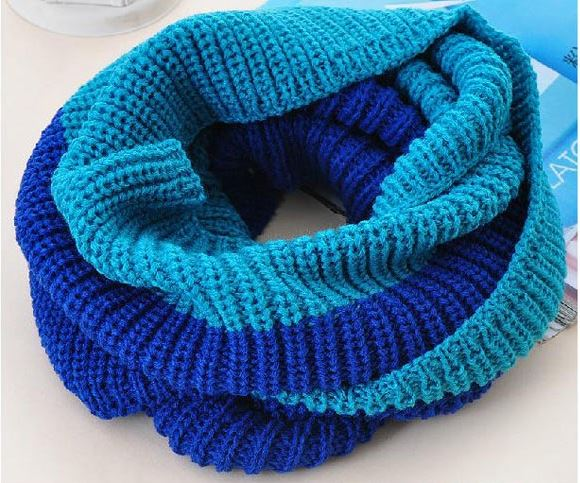 ColorBlockScarf