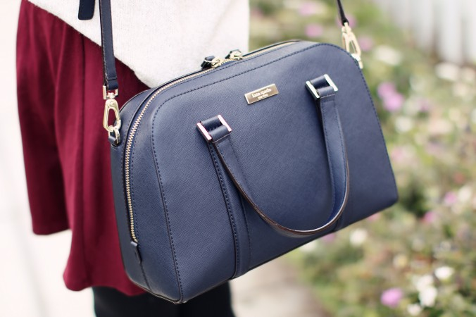 8971_Kate_Spade_Navy_Blue_Bag