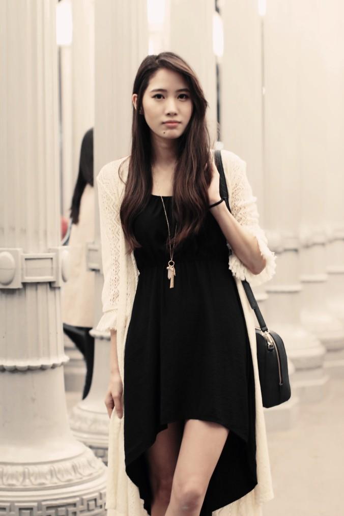 9117-LACMA-Urban-Lights-High-Low-Black-Dress