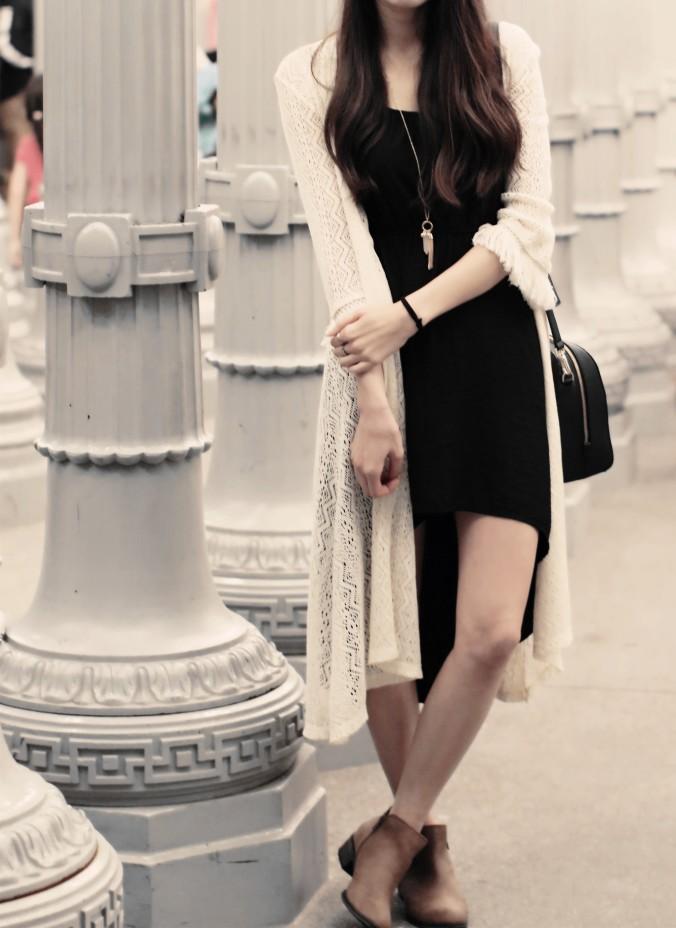 9120-LACMA-Urban-Lights-High-Low-Black-Dress