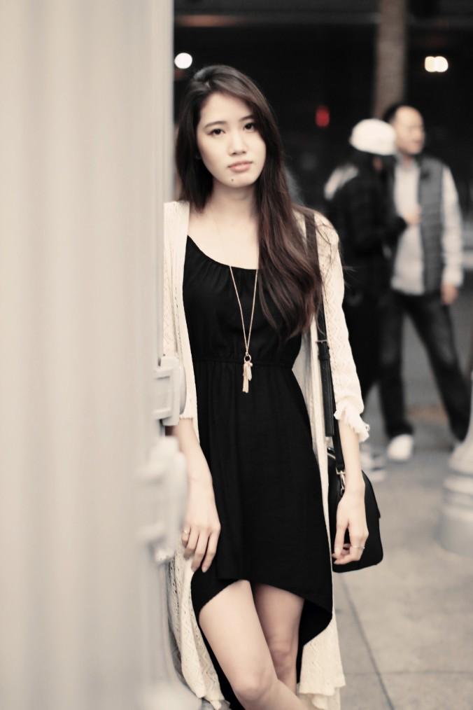 9148-LACMA-Urban-Lights-High-Low-Black-Dress-Spring-Fashion