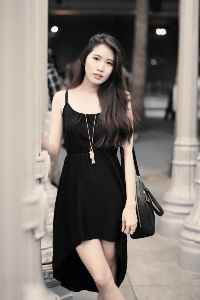9150-LACMA-Urban-Lights-High-Low-Black-Dress-OOTD