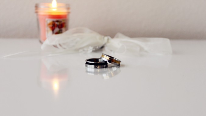 Valentine's Day Couple Rings